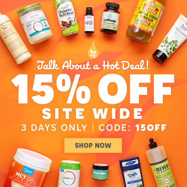 Talk About A Hot Deal! - 15% OFF Sitewide, 3 Days Only | Use Code: '15OFF' - Shop Now