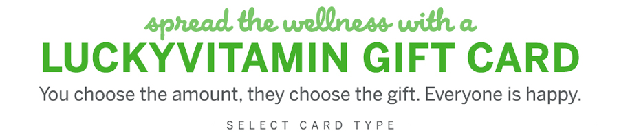 LuckyVitamin Gift Cards
