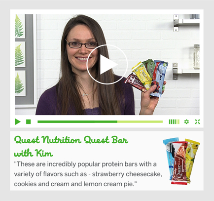 Quest Nutrition med Kim