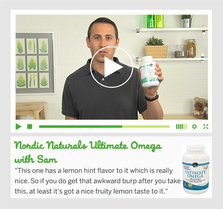 Nordic Naturals Ultimate Omega with Sam