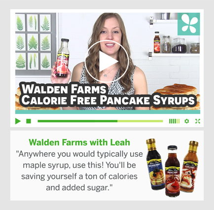 Walden Farms med Leah
