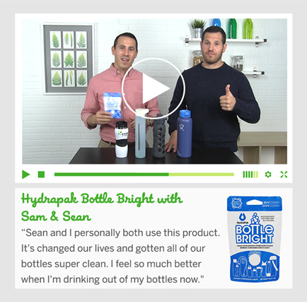 Hydrpack Bottle Bright with Sam & Sean