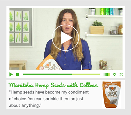 Manitoba Hemp Seeds with Colleen