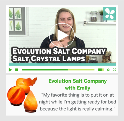 Evolution Salt Company med Emily