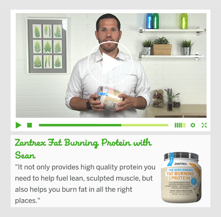 Zantrex Fat Burning Protein with Sean