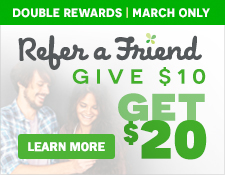 Refer A Friend, Give $5, Get $10