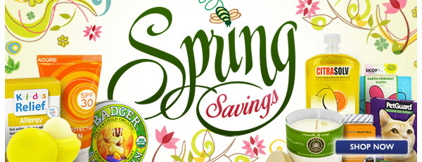 Shop Spring Savings