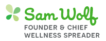 Sam Wolf, Founder & Chief Wellness Spreader