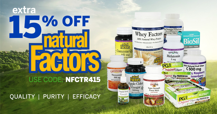 Natural Factors Sale