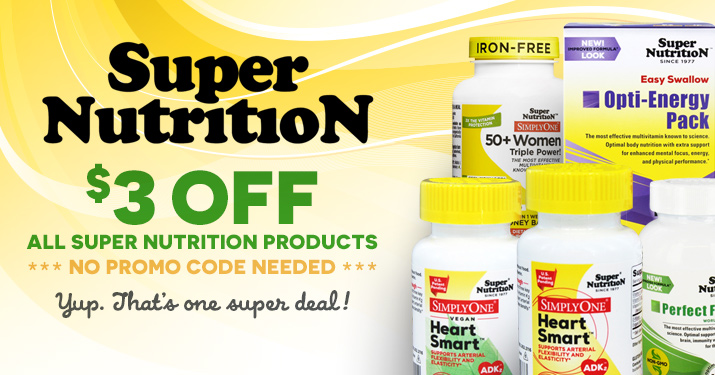 Super Nutrition Sale