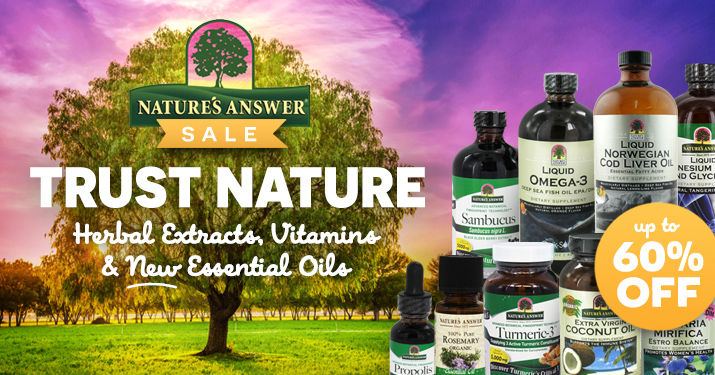 Nature's Answer Sale