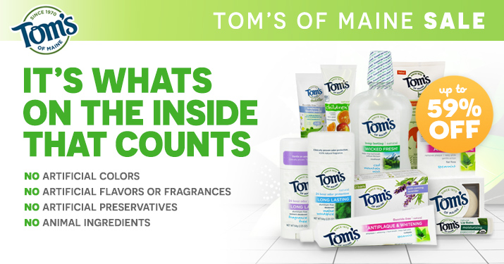 Tom's of Maine Sale