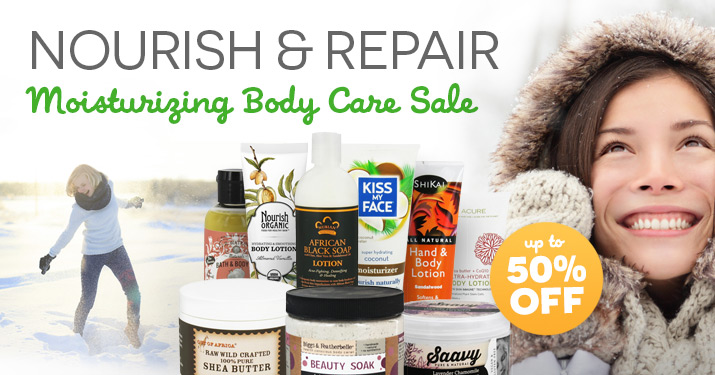 Moisturizing Body Care Sale
