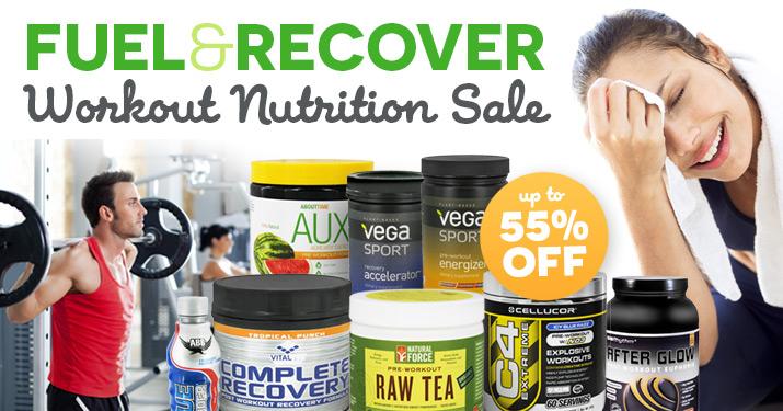Workout Nutrition Sale