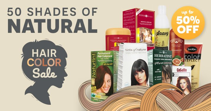 Natural Hair Color Sale