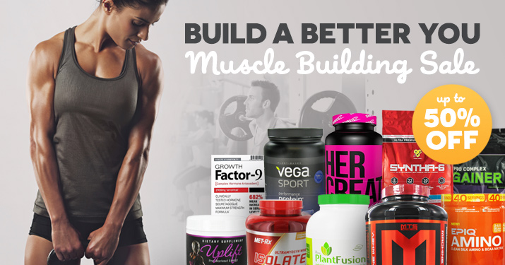Muscle Building Sale