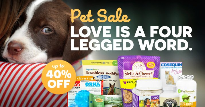 Natural Pet Sale