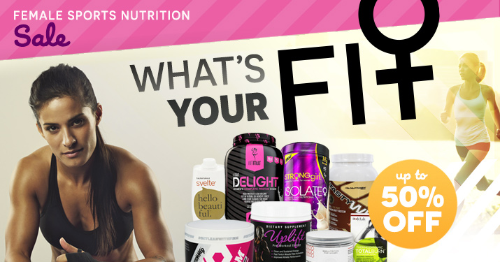 Female Sprorts Nutrition Sale