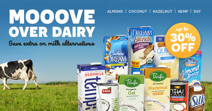Milk Alternatives Sale