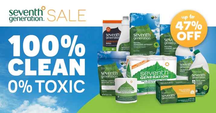 Seventh Generation Sale