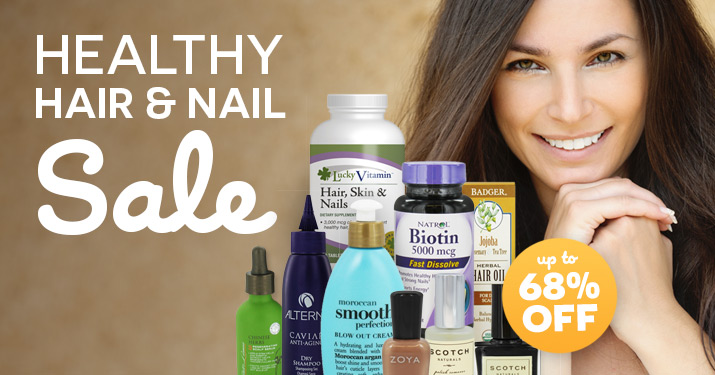Health Hair & Nail Sale