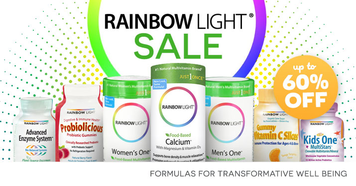 Rainbow Light Sale