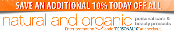 Save 10% on Personal Care
