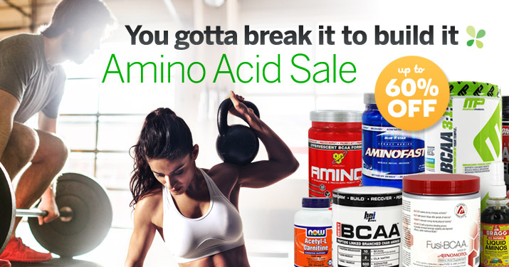 Amino Acid Sale