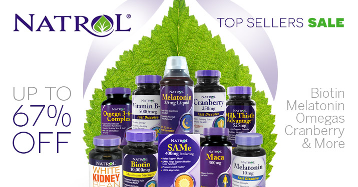Natrol Top Sellers Sale