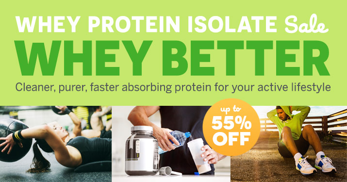 Whey Protein Isolate Sale