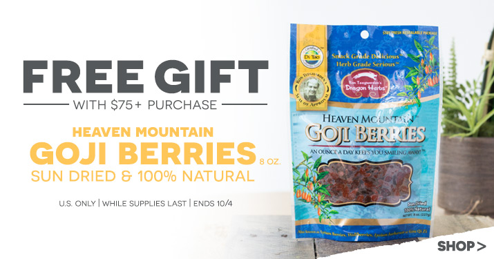 Flora Goji Berries Gift With Purchase