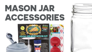 Mason Jar Accessories Sale