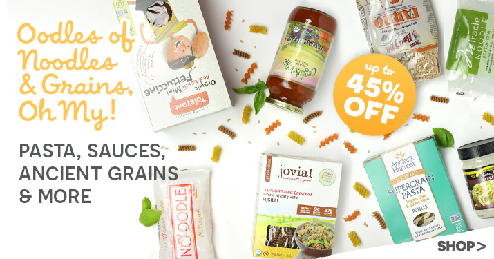Pasta & Grains Sale