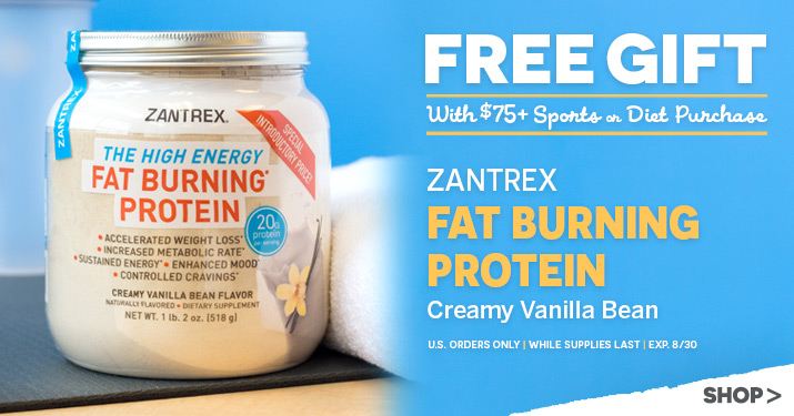 Zantrax Fat Burning Protein Gift with purchase