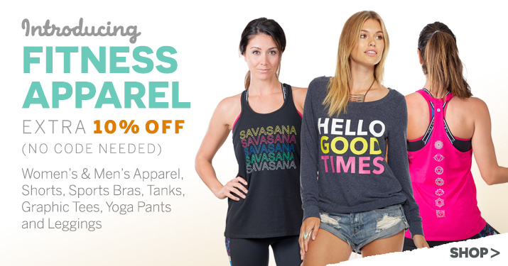 Introducing Fitness Apparel