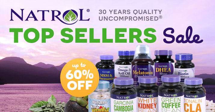 Natrol's Best Sellers Sale