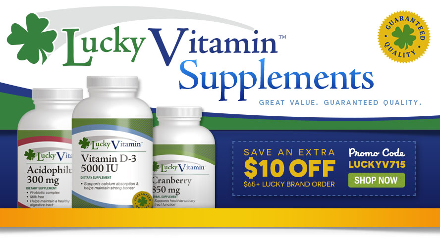 LuckyVitamin Supplements